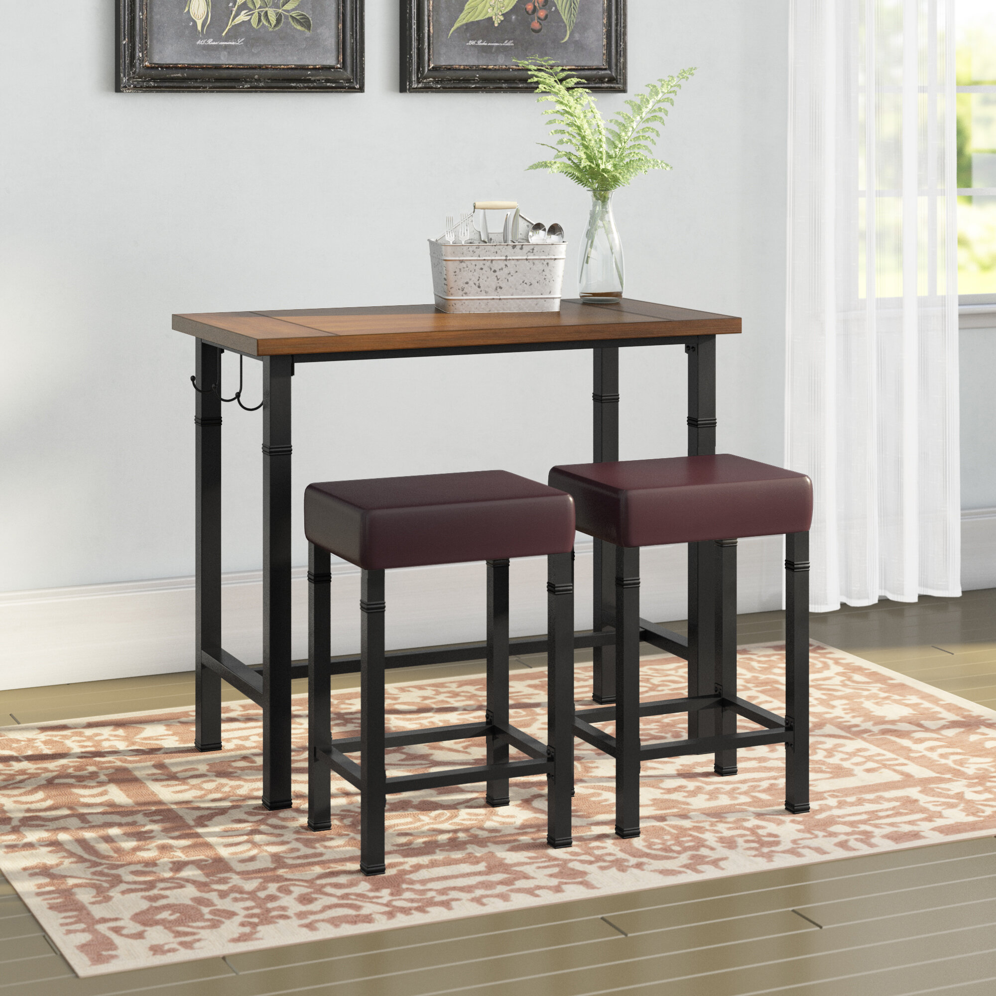 Knapp 9   Person Counter Height Dining Set