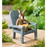 Reading Rabbit Garden Statue Wayfair Ca