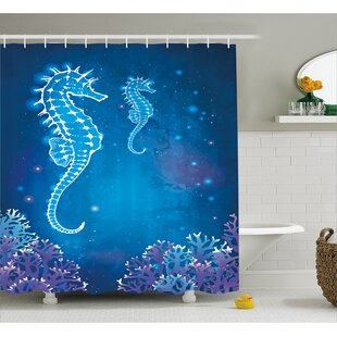 Ocean Pipefish Sea Creatures Shower Curtain