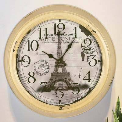 18 Inch Round Wall Clock Wayfair