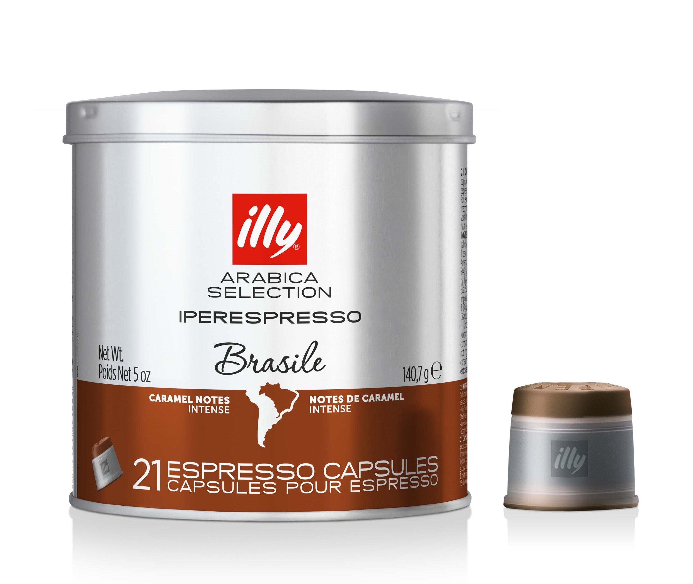 Illy Caffe Espresso Arabica Caramel Capsules Pack Of 126 Green Coffee Capsule Pure Organic 60 Caps Wayfair