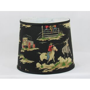 Cowboy Cotton Drum Lamp Shade