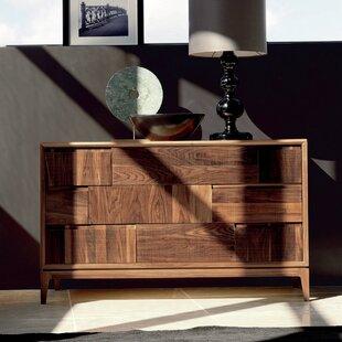 Martino 3 Drawer Standard Dresser By YumanMod