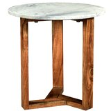 Modern Cross Leg Base End Side Tables Allmodern