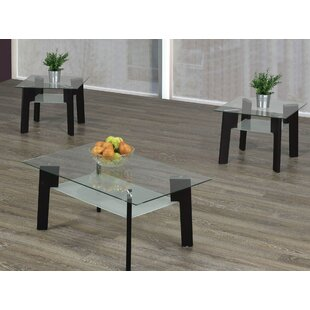 Retta 3 Piece Coffee Table Set