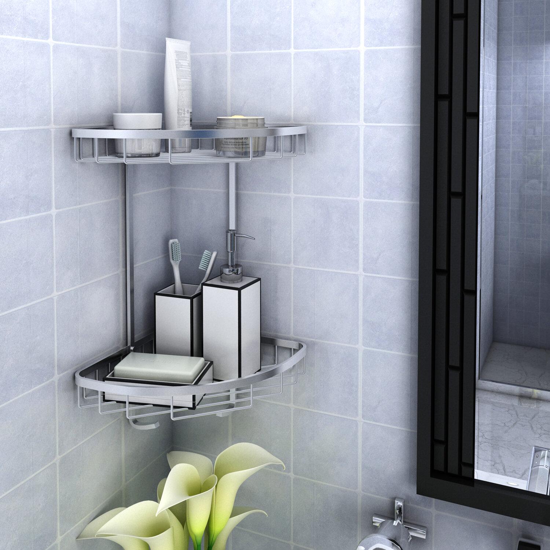 Rebrilliant Patricia Aluminum Shower Caddy   Wayfair