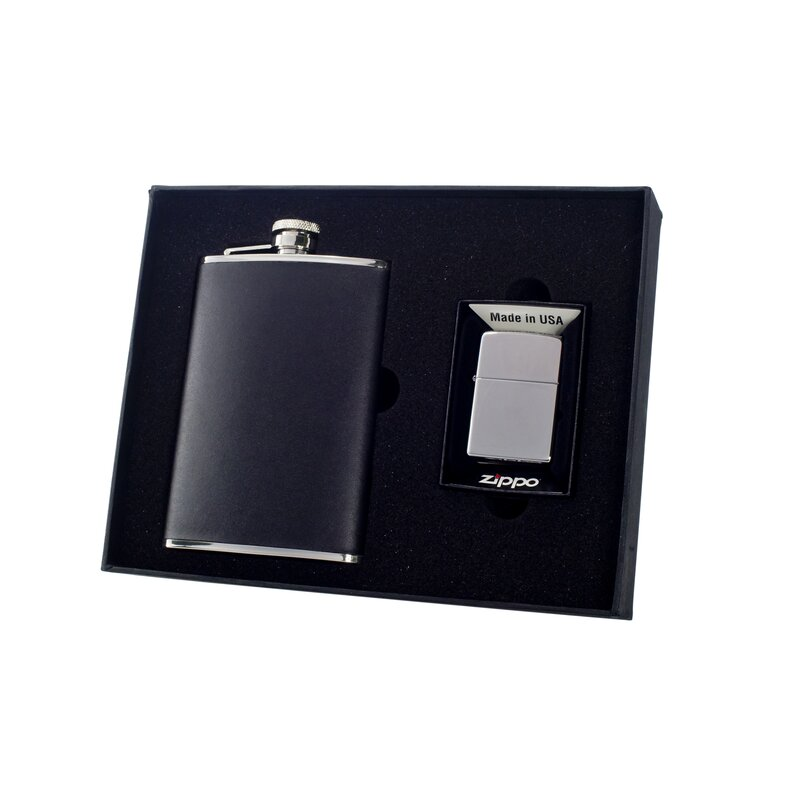 Visol Products Flask And Lighter Wayfair