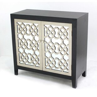 Reviews Carreiro Living Room 2 Door Accent Cabinet By House of Hampton