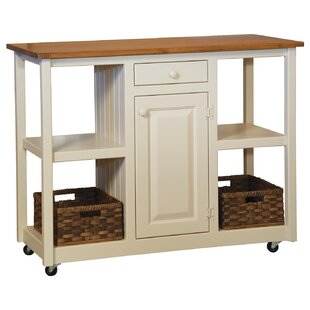 Maclin Kitchen Cart by August Grove