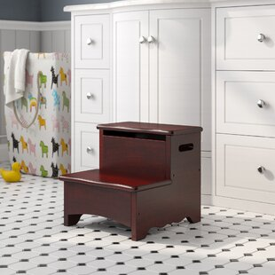 Matilda Step Stool With Storage by Viv   Rae