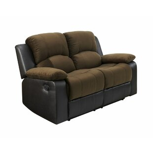 EthelReclining Loveseat by Win..