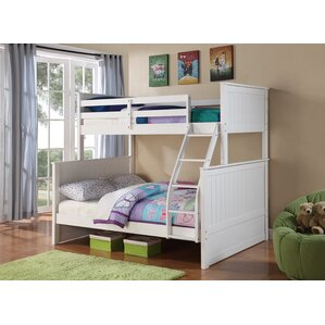 Ciera Twin over Full Loft Bunk Bed by Harriet Bee
