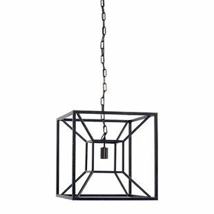 Brayden Studio Navarra 1-Light Square/Rectangle Pendant