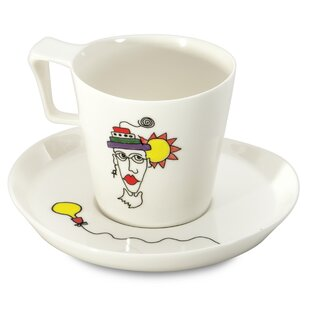 Eclipse Codriez Breakfast Coffee Cup and Saucer