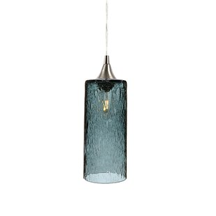 Brayden Studio Sandie 1-Light LED Cylinder Pendant
