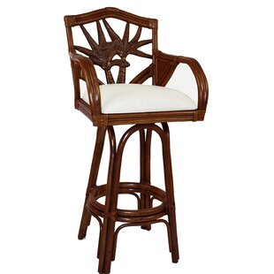 Cypress 30 Swivel Bar Stool Bay Isle Home