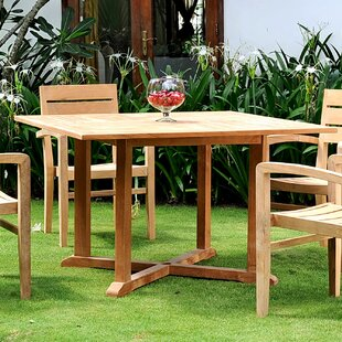 Vang Extendable Teak Dining Table by Darby Home Co