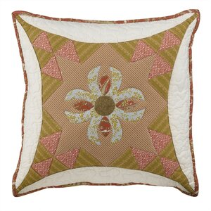 Willow City Square Decorative Cotton Throw Pillow