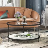 Doramae 3 Legs Coffee Table with Storage by Latitude Run®