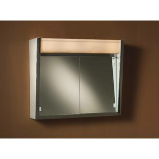 Ensign 24 x 23.5 Surface Mount Medicine Cabinet with Lighting by Broan