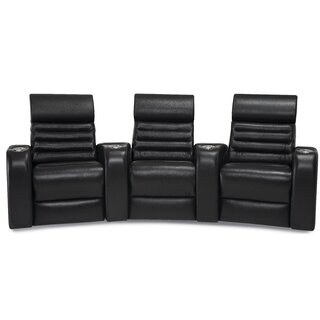 Alexandria Curved Home Theater Sofa (Row of 3) by Palliser Furniture SKU:AD279998 Shop