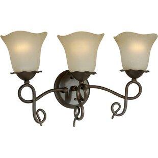 Charlton Home Cordia 3-Light Vanity Light