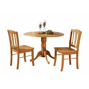 Charlton Home Hanchett 3 Piece Dining Set