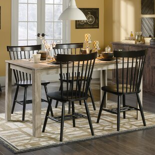 Brixton 5 Piece Dining Set Highland Dunes