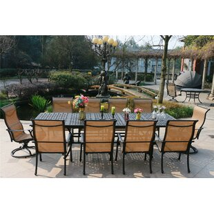Kempf 11 Piece Dining Set