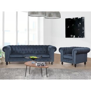 Best Price Jovani 2 Piece Living Room Set by Rosdorf Park Reviews (2019) & Buyer's Guide