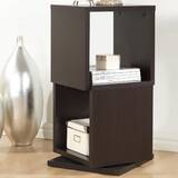 Rotating Cube Bookcase by Latitude Run