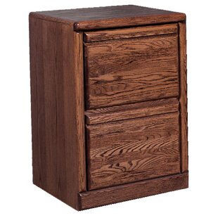 Loon Peak Holt 2-Drawer File Cabinet