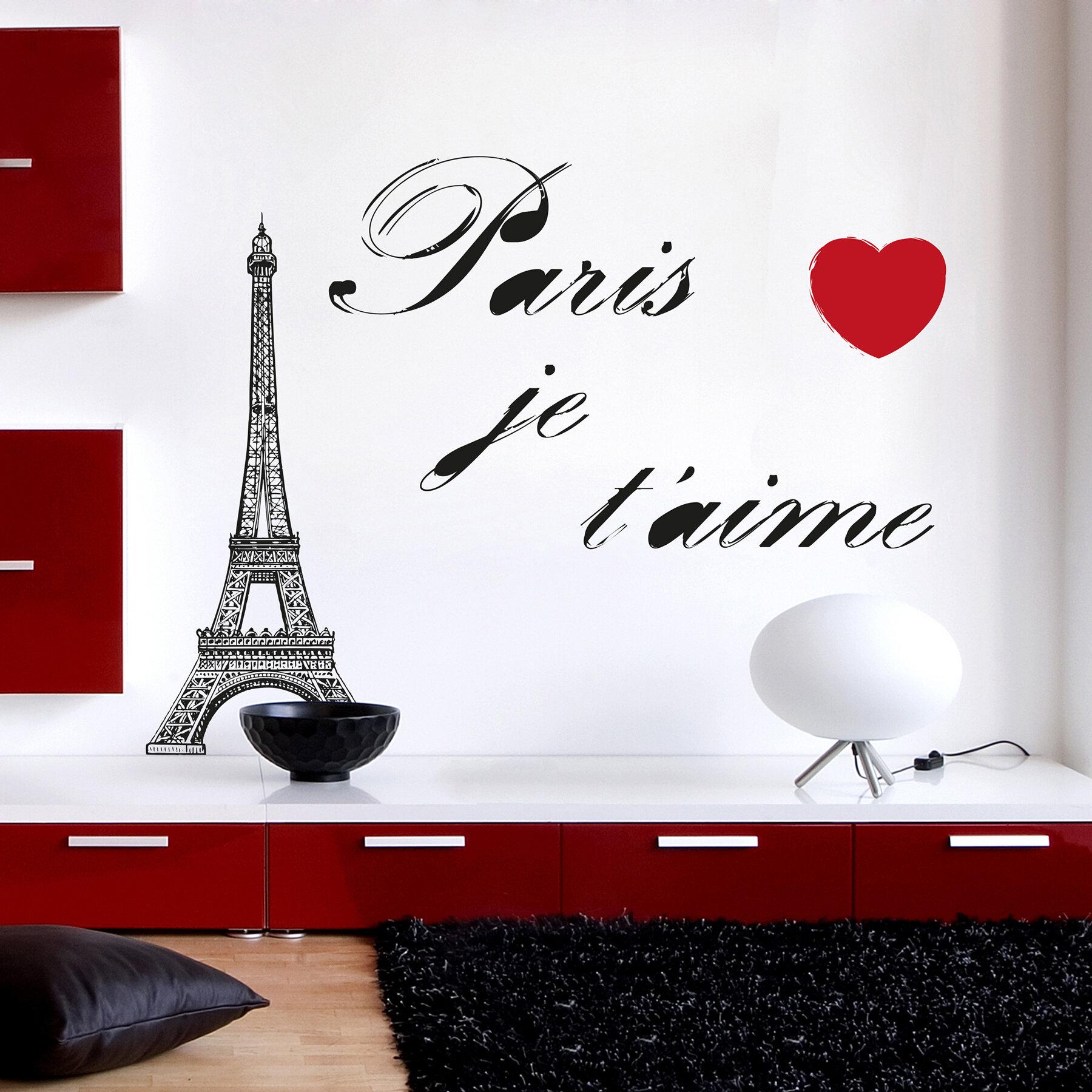 Home Decor Line Paris Wall Decal U0026 Reviews | Wayfair