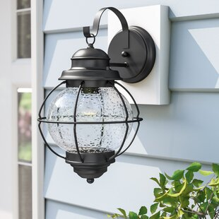 Price comparison Cason 1-Light Outdoor Wall Lantern By Beachcrest Home