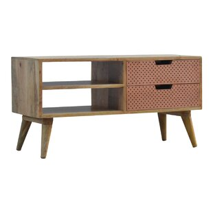 Rosalind Solid Wood TV Stand By George Oliver