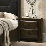 Meryl 2 Drawer Nightstand by Charlton Home®