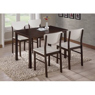 Alesha Wood Leg Dining Table Zipcode Design