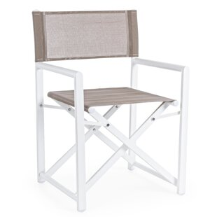 Patrick AFB Folding Director Chair (Set Of 2) By Beachcrest Home