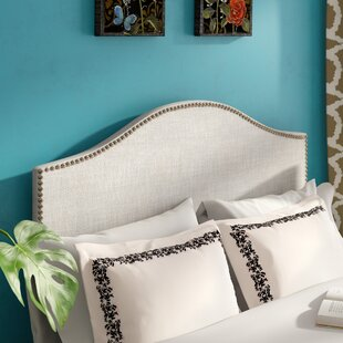 Alethea Upholstered Panel Headboard by Andover Mills