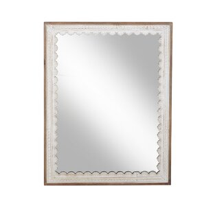 Charleroi Modern Rectangular Wood Full Length Mirror