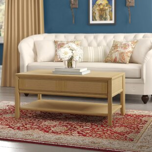 Izzie Coffee Table With Storage By August Grove