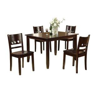 Pariaman 5 Piece Dining Set by Winston Porter