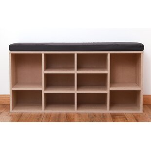 10 Pair Shoe Storage Bench By Latitude Run