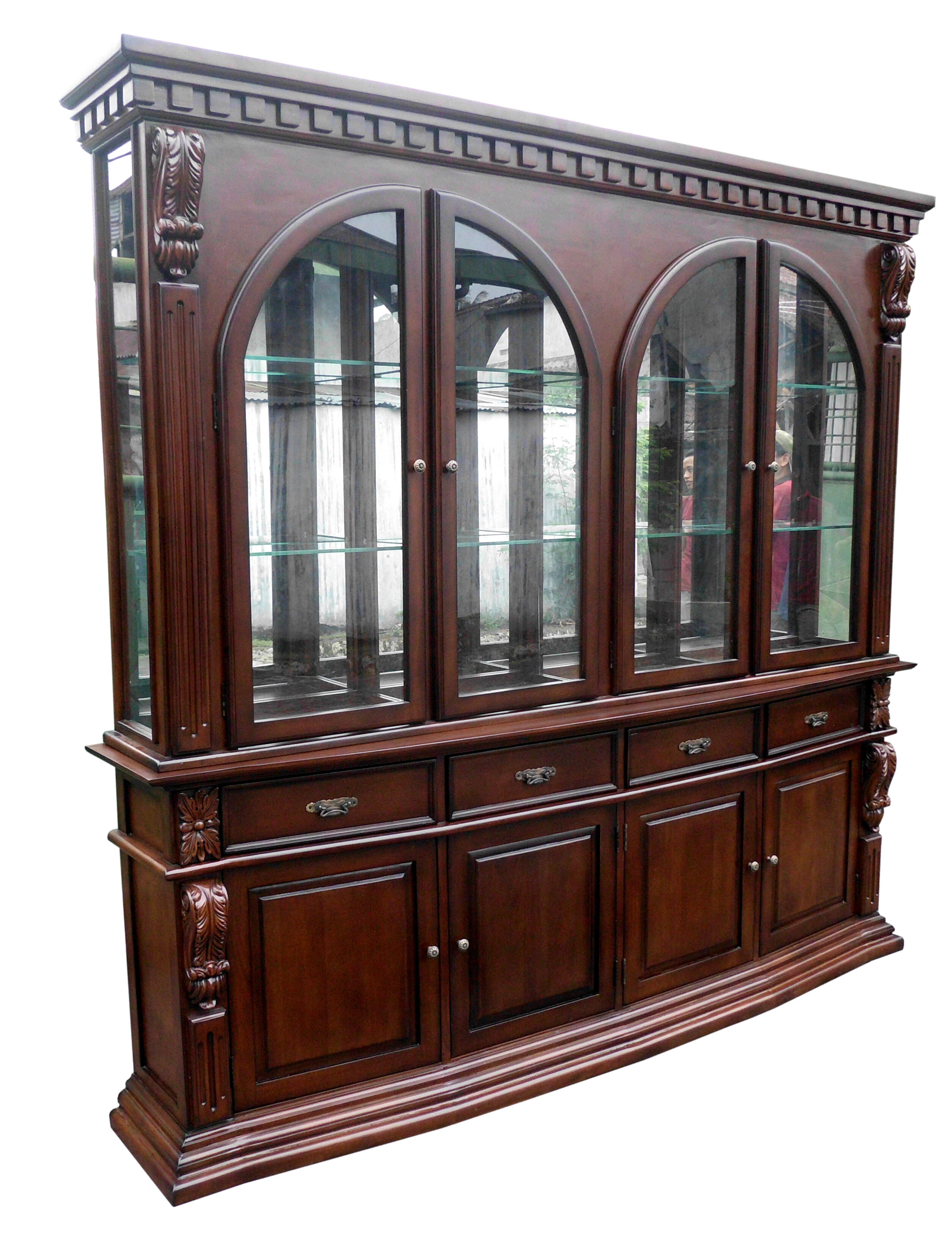 D Art Collection Sheraton Lighted China Cabinet | Wayfair