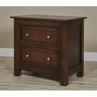Buller 2 Drawer Nightstand by DarHome Co Discount