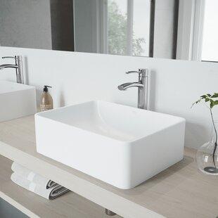 Milo Single Hole Bathroom Faucet with Optional Drain Assembly