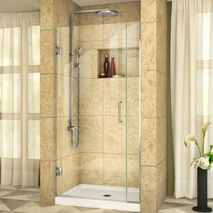 Unidoor Plus 31.5 x 72 Hinged Frameless Shower Door with Clearmax? Technology by DreamLine