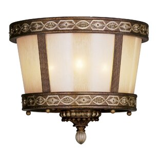 Astoria Grand Schweizer 3-Light Flush Mount