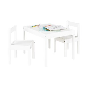 Sina 3 Piece Table And Chairs Set By Pinolino
