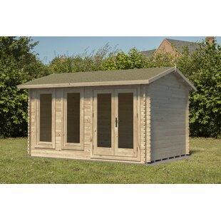 Viers 13 X 11 Ft. Tongue & Groove Log Cabin By Sol 72 Outdoor